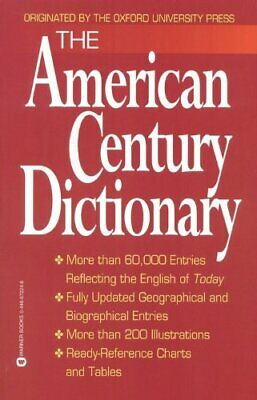 AMERICAN CENTURY DICTIONARY By Laurence Urdang *Excellent Condition*