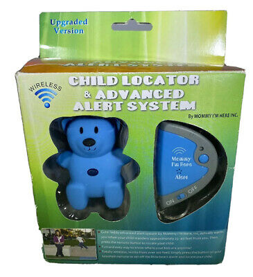 Mommy I'm Here Advanced Alert Child Locator Tracker Teddy In