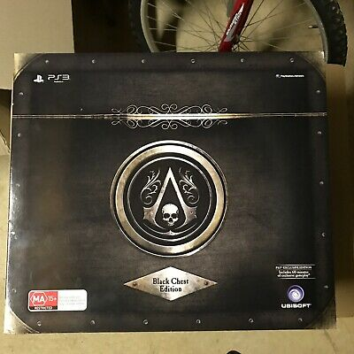 Assassins Creed Black Flag Black Chest Edition (PS3) NO GAME
