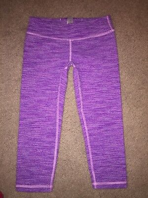 Ivivva Rhythmic Crops (thick Material) Girls Size 10 (EXCELLENT)