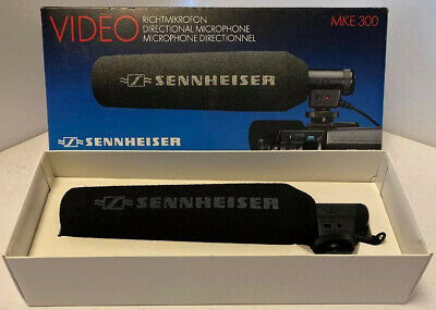 Sennheiser MKE 300 Directional Video Microphone, Boxed Fantastic Condition