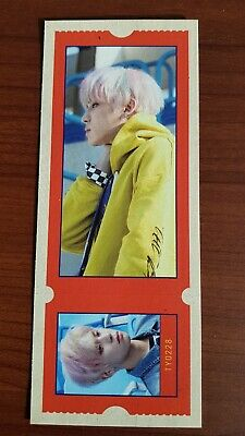 SF9 TAEYANG TY Authentic Official TICKET CARD PHOTOCARD MAMMA MIA! 4th Album