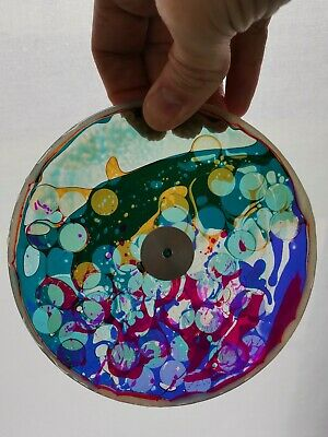 "BUBBLE VISION 6"" Oil Wheel CIRCLES Optikinetics Opti Aura Source Magma Pluto"