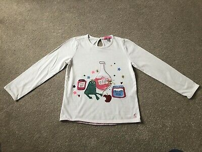 Joules Long Sleeve Girls Top Age 6 Years