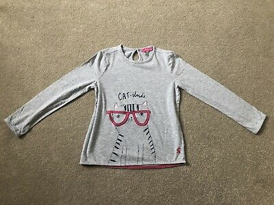 Joules Girls Long Sleeve Top Age 6 Years