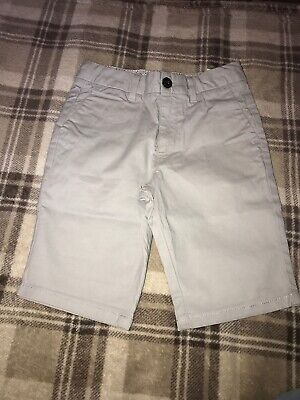 Boys Grey River Island Chinos Age 7/8