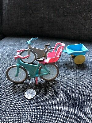 FISHER PRICE - Loving Family dolls house bicycles