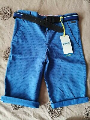 Ted Baker Boys Chino Shorts With Belt Size 10 Years New