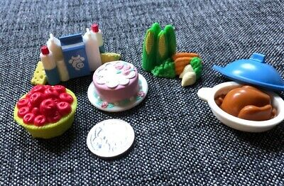 FISHER PRICE - Loving Family dolls house - assorted food