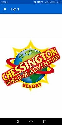 Chessington World Of Adventures THEME PARK TICKET x 2 Adults Friday 22nd May
