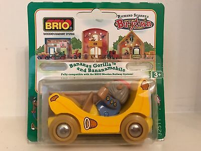 Brio Richard Scarry's Busytown Bananas Gorilla and Bananamobile - NEW & SEALED