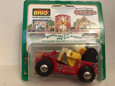 Brio Richard Scarry's Busytown Huckle the Cat and Fire Engine - NEW & SEALED