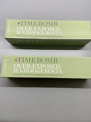 Time Bomb: Over-Exposed Sun Damage Rescue Cream 2x70ml ~ BRAND NEW & BOXED