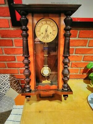 Vintage Vienna Style Large Wall Clock German HAC movement R.A Pendulum