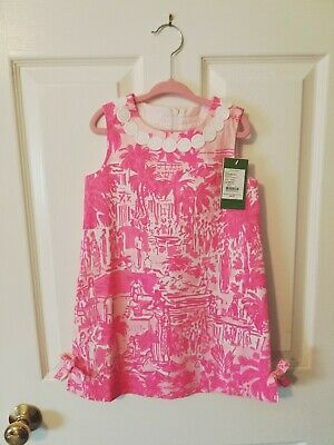 Lilly Pulitzer Girls Shift, Nwt, Size 5, Rule Breakers