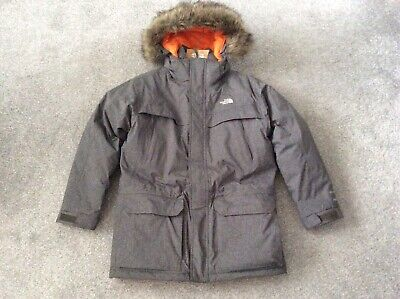 The North Face McMurdo Grey Parka Size Large Boys