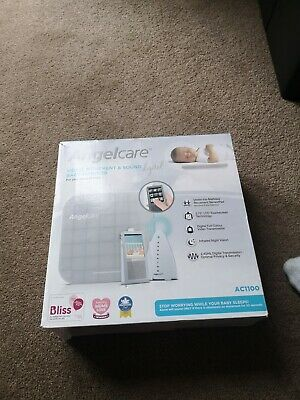 Angelcare AC1100 Digital VIDEO MOVEMENT & SOUND Baby Monitor SENSOR PAD + Camera
