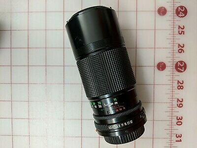 Vintage Canon Zoom Lens FD 70-150mm f:4.5 Japan