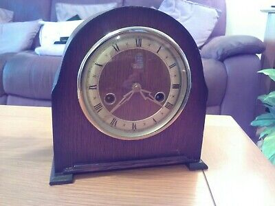 Vintage Smith of Enfield Westminster Chiming Clock
