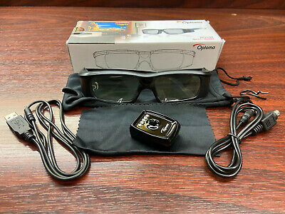 Optoma ZF2100 System/Glasses 3D Active Shutter | New but Opened