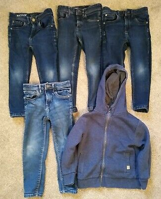 Bundle Next Boys Skinny Jeans Age 5 & Next Hoody