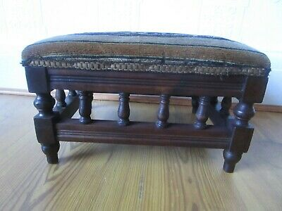 Antique Gallery Footstool