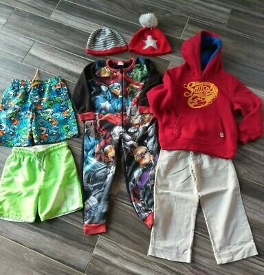 Lovely Boys Clothes Bundle Age 4-5 Years Includes NEXT