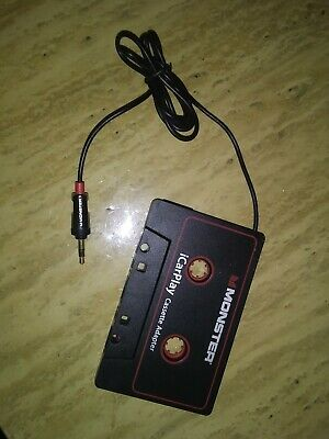 Monster iCarPlay Cassette Adapter for iPod and iPhone(Pre-owned)