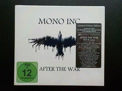MONO INC. After The War Limited Deluxe Edition CD + DVD inkl. Sticker NEU + OVP