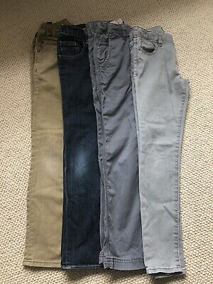 Bundle of 4 boys GAP trousers - age 8-9 yrs