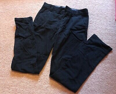 Navy Blue Chinos From Next, Size 10 Years Plus