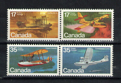 Canada   Scott 844a / 846a  Aircraft  Pairs   Mint  Never Hinged