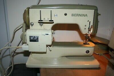 Vintage Bernina 600 Sewing Machine in carry case