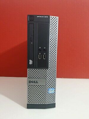 Dell Optiplex 3010 SFF Intel Core i5 3470 @3.20Ghz 8GB 500GB Nvidia GT620 Win10