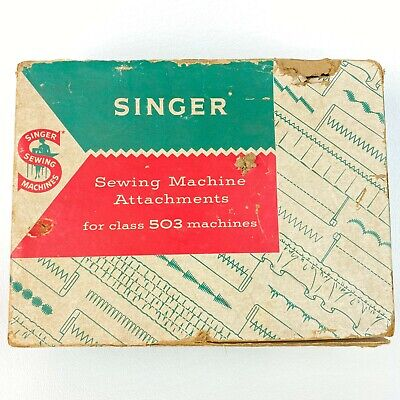 Antique SINGER SEWING MACHINE ATTACHMENTS FOR CLASS 503 MACHINES, 1960's VINTAGE