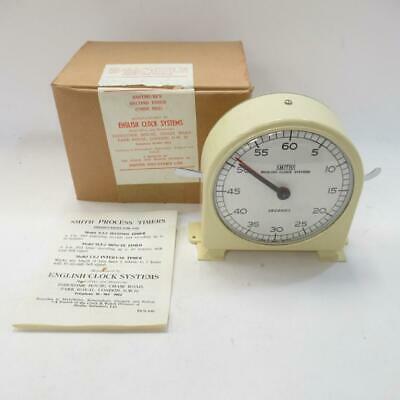 Vintage Smiths English Clock Systems, Process Timer, Model N.S.2 Seconds Timer