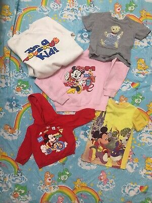 Lot Of Disney Baby Clothes 70s 80s 90s Mickey Minnie Mouse Polo Bear Toys R Us