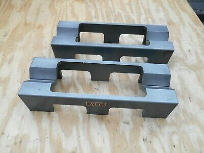 "BFC machinist v blocks made in Japan 13 1/2""L x 4 1/2""W x 3""H"