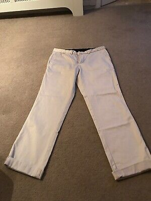 River Island Stone Chino Trousers 34r