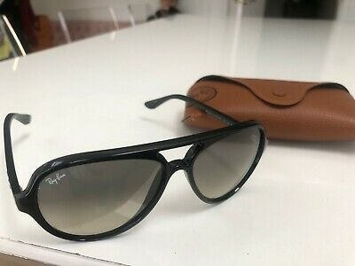 Ray-Ban CATS 5000 RB4125 sunglasses black