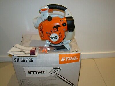 Stihl SH 86 C Petrol Leaf Blower/ Vacuum Shredder . Only been used twice