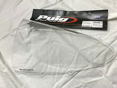 Puig Racing Screen Ducati 959 & 1299 Panigale Clear Windshield Racing - Tall