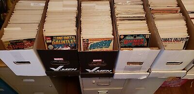 Comic Grab Bags 50 Issue Lots Marvel/Dc Silver Age To Current #1'S Key Issues