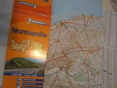 Michelin Map Of Normandy