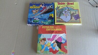 super 8mm film the rescue Robin Hood Peter Pan  200 series