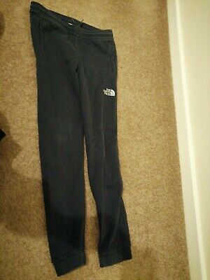 The North Face Junior L 12-14 Years Grey Joggers Track Pants Jogging Bottoms