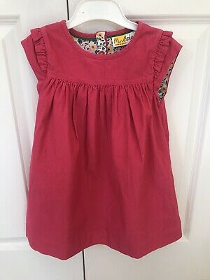 BNWOT Mini Boden Girls Pink Dress Age 3-4 Years