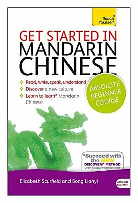 GET STARTED IN MANDARIN CHINESE: A TEACH YOURSELF AUDIO By Song Lianyi