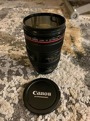 Canon EF 24-105mm 1:4 L IS USM Perfect Condition + Hoya polar filter