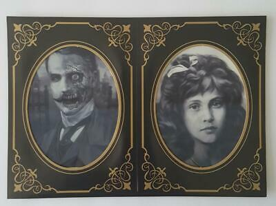 Halloween Lenticular Photo Haunted Picture Frame Eyes glow and screams